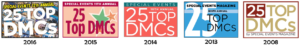 Top 25 DMC badges 2008-2016 ALL